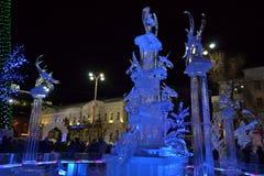 ice sculpture Stock Image