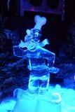 Ice sculpture of Pluto. Disney's Pluto ice sculpture Stock Photos