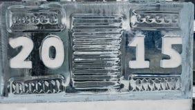 2015 ice sculpture Stock Photos