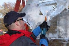 Ice Sculptures in Manhattan Stock Images