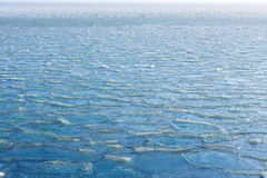 Ice sea froze background cold winter Royalty Free Stock Images