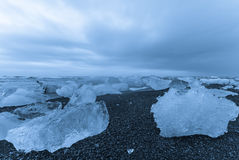 Ice sea, Iceland. Royalty Free Stock Photo