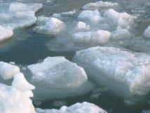Ice and sea Stock Photo