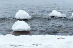 Ice, sea, snow, cold, winter, landscape, travel, baltic, tourism Stock Photo