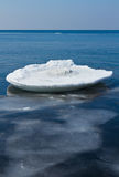 Ice sea surface Stock Photography