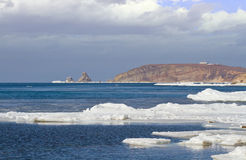 Ice sea surface Royalty Free Stock Photography