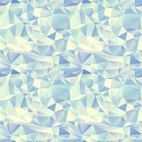 Ice seamless pattern. Crystal background Royalty Free Stock Images