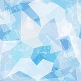 Ice seamless pattern with grunge effect Stock Images