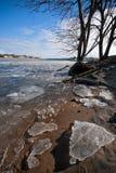 Ice Shards Stock Photography