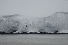 Ice shelf, Antarctica. Stock Photos