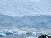 Ice shelf in Antarctica Stock Photography