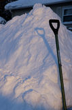 Ice and Shovel Royalty Free Stock Photos