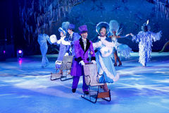 Ice show performance Stock Image