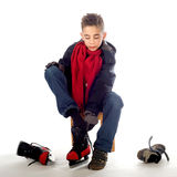 Ice-skate Royalty Free Stock Photo