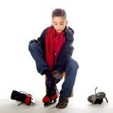 Ice-skate Royalty Free Stock Photo