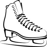 Ice-skate Royalty Free Stock Photography