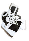 Ice skate for children on white background Royalty Free Stock Images