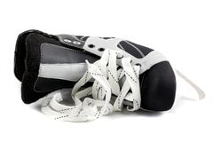 Ice skate isolated on white. Royalty Free Stock Photography