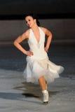 Ice skater Cappellini -Italian Championship Stock Photos