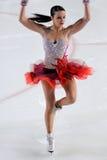 Ice skater Cappellini -Italian Championship Royalty Free Stock Photos