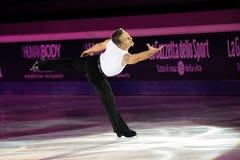 Ice skater Elvis Stojko Stock Photos