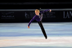 Ice skater Evgeni Plushenko Royalty Free Stock Photos