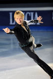 Ice skater Evgeni Plushenko Stock Photos