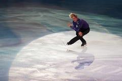 Ice skater Evgeni Plushenko Stock Photos