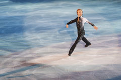 Ice skater Evgeni Plushenko Stock Images
