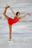 Ice Skater Garlisi -Italian Championship Royalty Free Stock Images