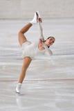 Ice Skater  at Italian Championship Royalty Free Stock Image