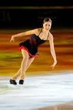 Ice skater Laura Lepisto Stock Images