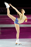 Ice skater Laura Lepisto Royalty Free Stock Photography