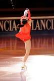 Ice skater Marchei at 2011 Golden Skate Award Stock Photo