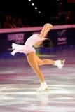 Ice skater Sarah Meier Stock Image