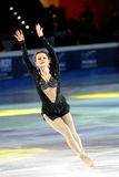 Ice skater Sasha Cohen Royalty Free Stock Images