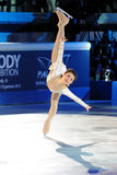Ice skater Sasha Cohen Royalty Free Stock Photography