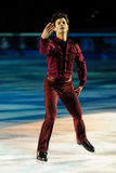 Ice skater Stephane Lambiel Stock Image