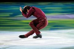 Ice skater Stephane Lambiel Royalty Free Stock Photo