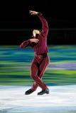 Ice skater Stephane Lambiel Stock Images