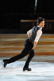 Ice skater Stephane Lambiel Royalty Free Stock Images