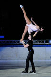 Ice skaters Berton & Hotarek -Italian Championship Stock Photo
