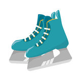 Ice skaters isolated icon. Illustration design Royalty Free Stock Photography