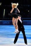 Ice skaters Tatiana Totmianina & Maxim Marinin Stock Images