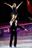 Ice skaters Tatiana Totmianina & Maxim Marinin Stock Photo