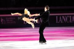 Ice skaters Tatiana Totmianina & Maxim Marinin Royalty Free Stock Images