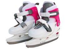 Ice skates stock photography