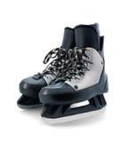 Ice skates. Hockey ice skates isolated on white Royalty Free Stock Photo