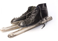 Ice skates stock image