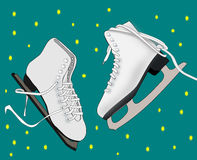 Ice Skates Royalty Free Stock Photography